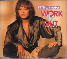 MICHELE - Work it out CDM 4TR Swingbeat RnB 1991 ARIOLA Benelux