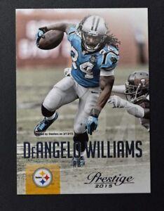 2015 Prestige #80 DeAngelo Williams - NM-MT