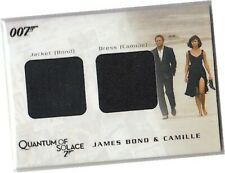 James Bond Archives 2009 - QC02 Bond Jacket Camille Dress Costume Card 035/875