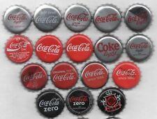 17 different COCO COLA kronkorken beer bottle caps chapas tappi