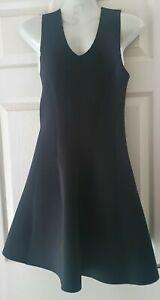 BNWT Topshop Black Skater Dress Size 12 RRP £45