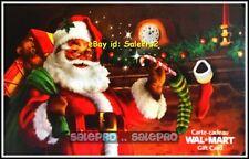 WALMART CANADA CHRISTMAS SANTA CANDY CANE STOCKING #VL5659 COLLECTIBLE GIFT CARD