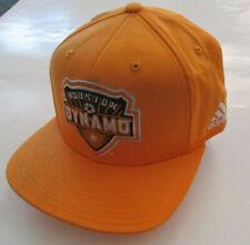 Men's Adidas Houston Dynamo Soccer Hat, New Orange Sport Life Style Cap Adjustab
