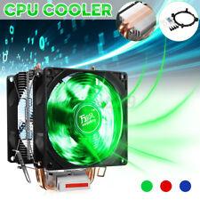 Dual Fan Silent CPU Cooler Heatsink For Intel LGA775/1156 AMD /AM3/AM4 Ryzen US
