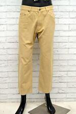 Pantalone MARLBORO CLASSICS Uomo Taglia 34 Pants Jeans Man Cotone Regular Corto
