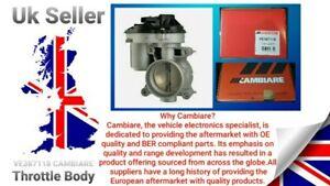 "VE387118 CAMBIARE Throttle Body Brand New Vehicles Compatibility In Description"""