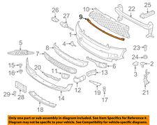 MINI OEM 07-15 Cooper Front Bumper Grille Grill-Trim Molding 51117209904