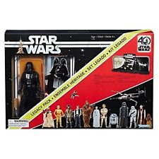 Star Wars Black Series 40th Anniversary Darth Vader Legacy Pack Diorama Not Mint