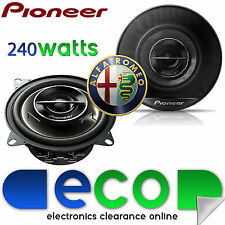 "PIONEER Alfa Romeo 156 1997-2007 6.5"" 17cm 240 watts Rear Door Car Speakers"