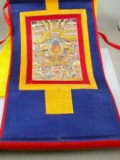 Tibet Buddhism Pure Land of Buddhism Thangka Print Scroll