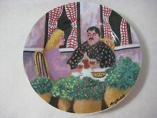 "Guy Buffet Japan Gbc Guy Buffet Collection ""Rendez-Vous"" Plate, 7 3/4"" Diameter"