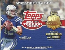 2012 TOPPS FOOTBALL - U PICK 20 - COMPLETE YOUR SET - OVER 252 TO CHOOSE FROM