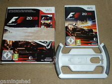 F1 2009 + OFFICIAL WHEEL - NINTENDO Wii & Wii U NEW! Boxed Game Formula 1 09 One