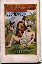 ENFANTINA. RELIGION CATHOLIQUE. ALMANACH JEUNESSE 1877