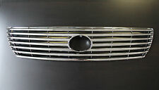Lexus 2001 2002 2003 LS430 High Quality All Chrome Grill Grille Insert 01-03