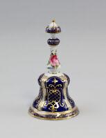 Porcelaine - Cloche avec un complexe Fleurs et Or désinstaller kor NEUF 9987022