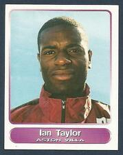 PANINI SUPERPLAYERS 1998 #316-ASTON VILLA-SHEFFIELD WED-PORT VALE-IAN TAYLOR