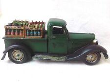 Vintage Model Delivery Vietnamese Wine Truck Metal Car Wood Crate Miniatures