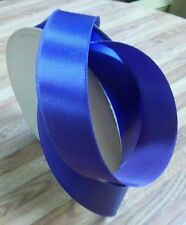 Clearance-Scher Fabrics Royal Blue Satin Ribbon, 1â…� Inch Wide, 177 Yards