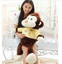 90CM Big Plush Cute Monkey Giant Large Stuffed Animals Soft Plush Toy Doll Gift