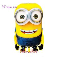 "Despicable Me Minion Dave  balloon 38"" Large Super Shape  helium party birthday"