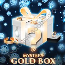 💍 Mystery Box Bijoux Or & Diamant Boite Mystère Collier Bague Bracelet Parure