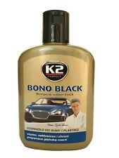 Gummipflege und Kunststoffpflege Stoßstangenschwärzer K2 Bono Black 32,50€/l
