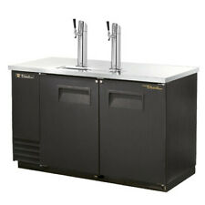 "True Tdd-2-Hc 59"" Two Keg Direct Draw Beer Dispenser"