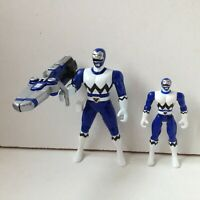 Blue LOST GALAXY BLASTING Power Rangers ACTION FIGURE BANDAI 1998