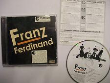 FRANZ FERDINAND Franz Ferdinand – 2004 AUSTRALIAN CD – Indie Rock – RARE!