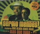 SERGIO MENDES feat BLACK EYED PEAS Mas Que Nada 3 TRACK CD NEW - NOT SEALED