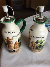 oil and vinegar dispenser set