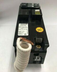 SquareD HOM215CAFI 15A 2P 120v Homeline Arc-Fault  Breaker, Pigtail Neutral new!