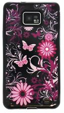 Butterfly Party Gel Case /Cover Samsung i9100 Galaxy S2 & i9105 Galaxy S II Plus