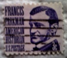1967 U. S. Scott 1281 Francis Parkman one used cancelled 3 cent stamp