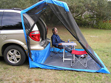TailVeil SUV Minivan Tent w/rainfly stuff sack and tent stakes