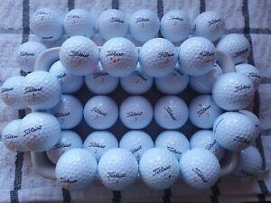40 Titliest Velocity golf balls