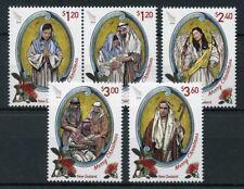 New Zealand NZ 2018 MNH Christmas Nativity 5v Set Angels Flowers Stamps