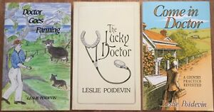 Leslie Poidevin Come In Doctor Goes Farming Adelaide Hills The Lucky Doctor POW