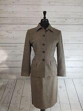Women's Talbot's Petite 2 Piece Skirt Suit Set Top Size 6 Skirt Size 4 EUC