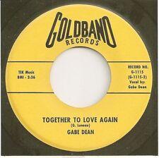 GABE DEAN  teen 45  Together To Love Again / Where Should I Go - NM