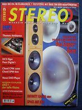 STEREO 6/98 PIONEER DV 505,DVL 909,SONY DVP S 715,CHORD CPA 220,SPM 600,THIEL CS
