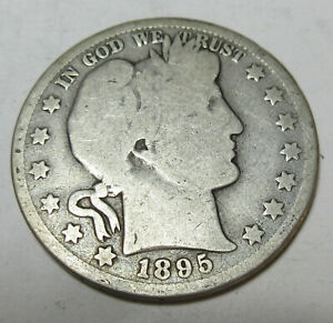 1895 Barber Half (#212DD)