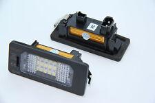 LED iluminación de la matrícula bmw e39 e60 e61 e70 e71 e82 e88 e90 e91 e92 e93 TÜV