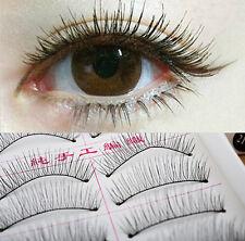 10 Pairs False Eyelashes Fake Eye Lashes Natural Thick Long Makeup Women Beauty