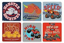"""16 Assorted Blaze and the Monster Machines Stickers, 2.5""""x2.5"""" ea., Party Favors"""