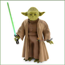 Star Wars Yoda Talking Action Figure with Lightsaber 9 Inches Preority Mail