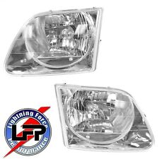 1997-2003 FORD F-150 & 1999-2004 SVT LIGHTNING HEADLIGHTS DRIVER & PASSENGER SET