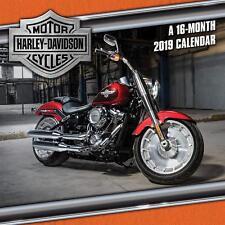 HARLEY-DAVIDSON MOTOR CYCLES  / 2019 Wall Calendar