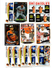 13 count lot mixed Manny Machado Rookie Cards! 6 DIFFERENT! DODGERS 3b! HOT